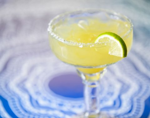 Ocho Signature Margarita at Ocho Cinco Cantina in Warrensburg NY